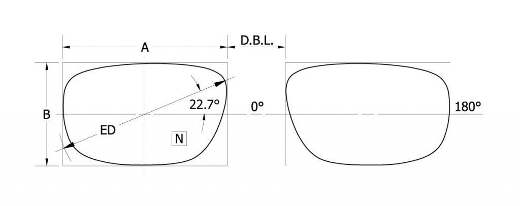 WF431AM - Lens Diagram